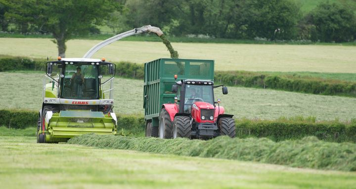 Grass silaging