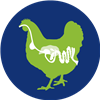 Afbeelding: chicken internal health icon